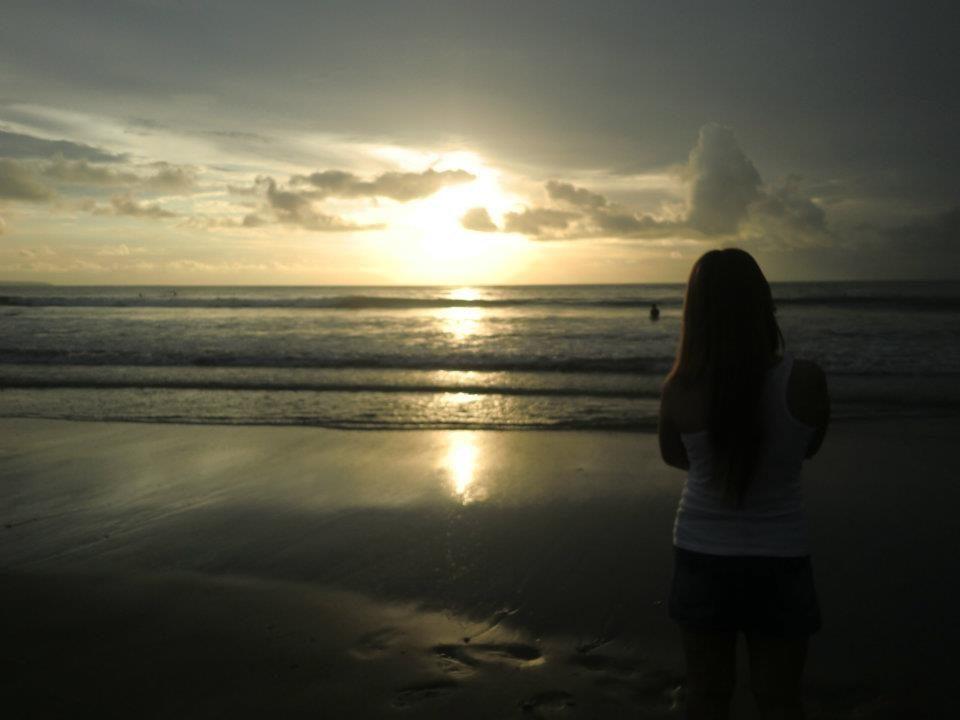 Kuta Beach – Exoticism of sunset and white sandy beach