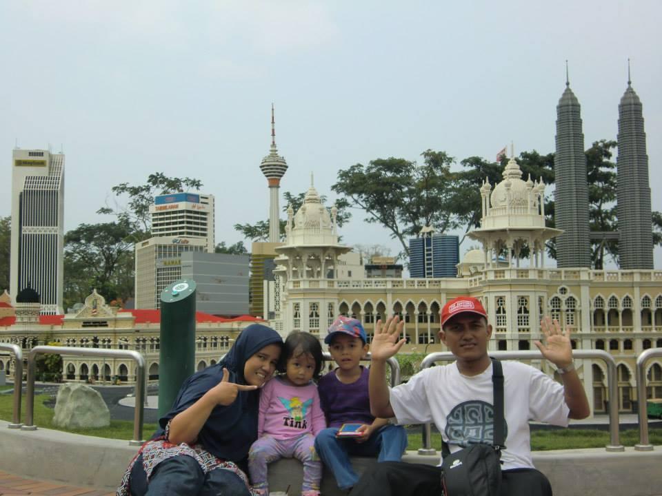 family photo time at legoland