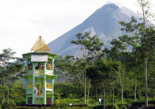 Explore the surrounding countryside of Yogyakarta