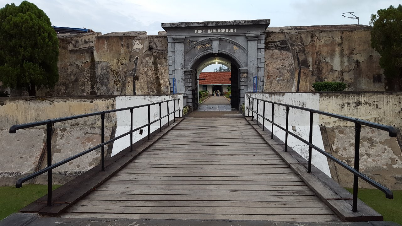 """Fort Marlborough, 'Turtle fortress"""" A British Colonialism Heritage"""