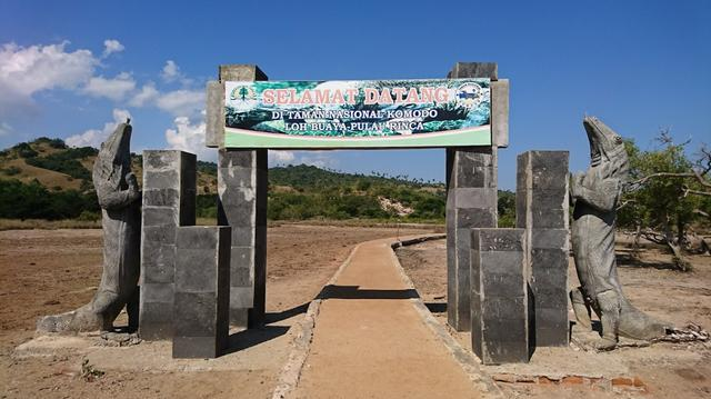 loh buaya Komodo National Park