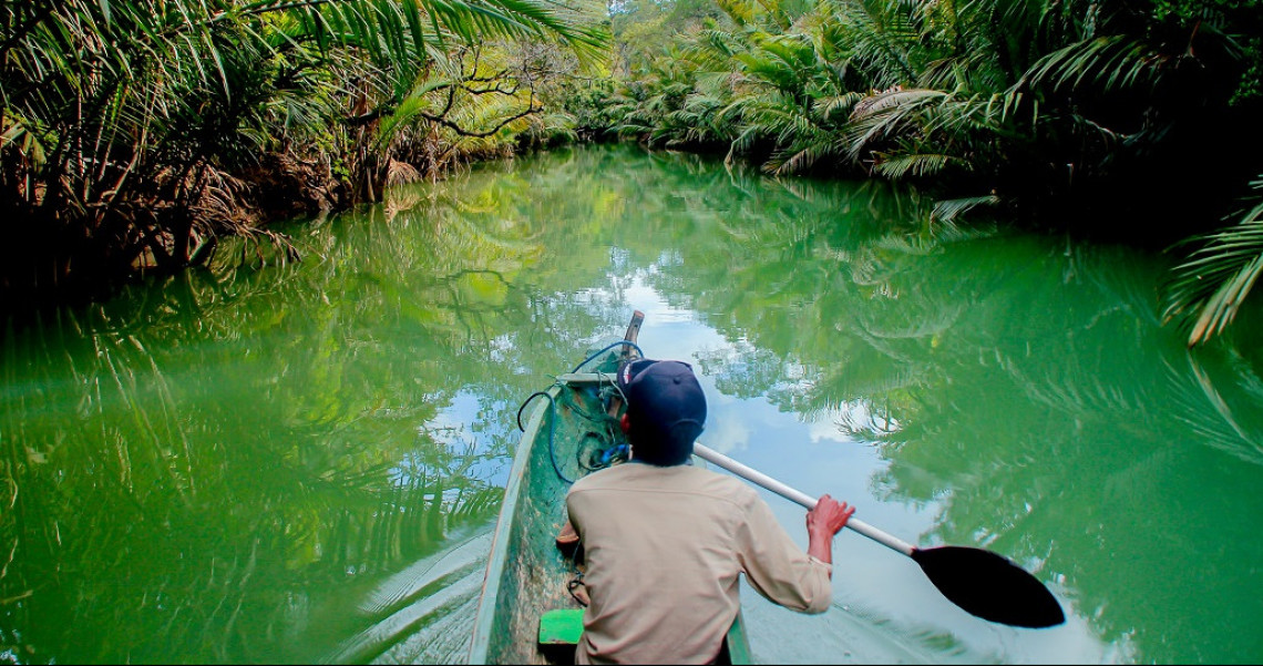 Walk Down the Cigenter River, The Sensation Of Exploring the Amazon Wilderness in Indonesia