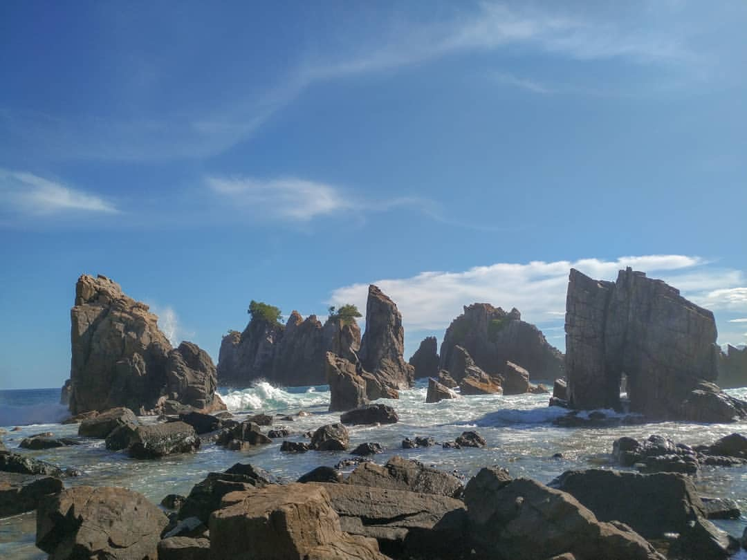 "Pantai Gigi Hiu – Shark Tooth Beach, The Enchantment of Nature that ""Bites"""