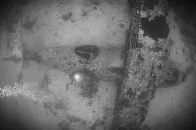bomber wreck