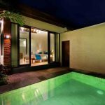 private pool in ubud