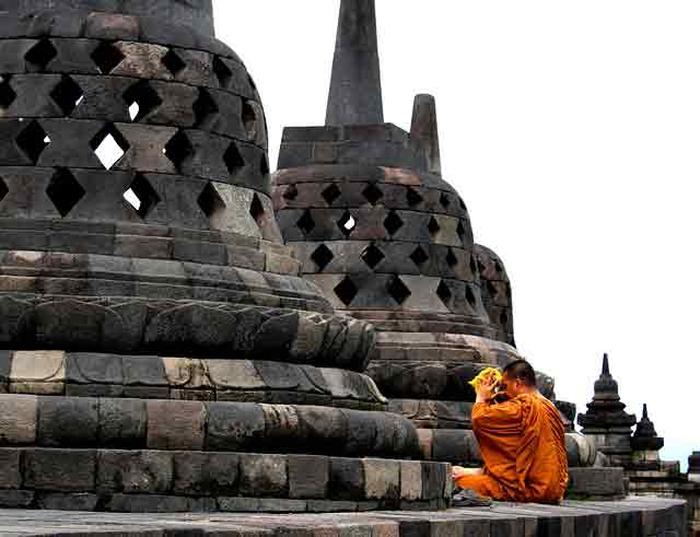 Borobudur Temple, Seeing the high civilization of Javanese Society In the Past