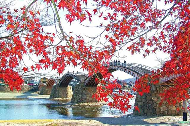Kintai Bridge And Iwakuni Castle, Beautiful Spots in Yamaguchi Prefecture