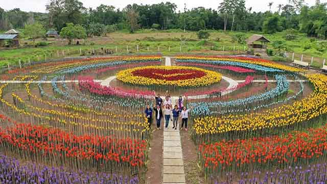 Forever Tulip Garden, Lamitan City, Basilan, Philippines