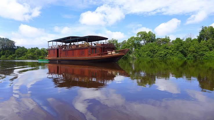 Kahayan River tour