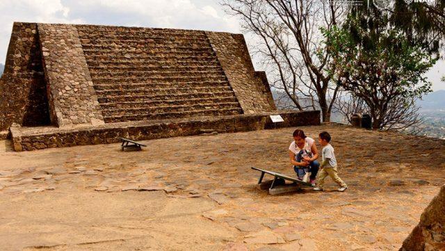 Aztec Archeological Site