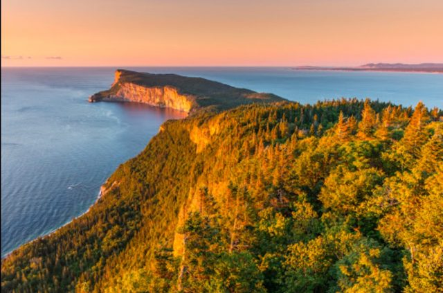 Forillon National Park of Canada