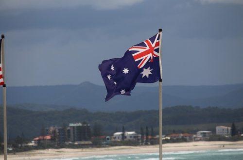 The unique symbols of Australia