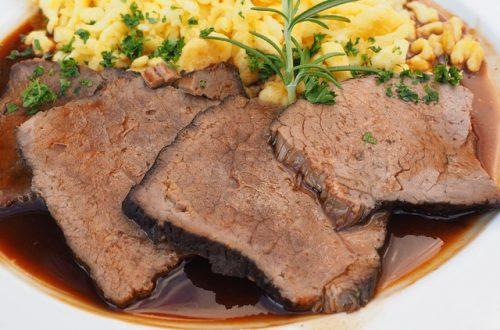 Sauerbraten beef